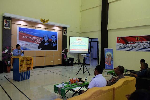 KPPN Saumlaki Gelar Sosialisasi Peringati Hari Anti Korupsi