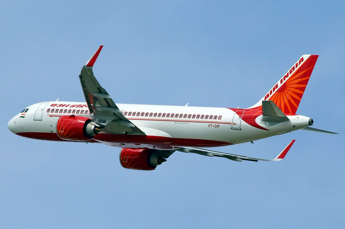 Airbus A320neo of Air India