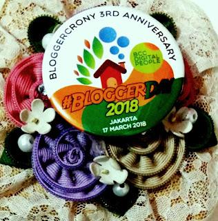 Komunitas Blogger Crony mengadakan Blogger Day 2018