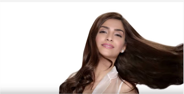 Spotted: Sonam Kapoor in Aurelle By Leshna Shah Jewellery in L'oreal ad