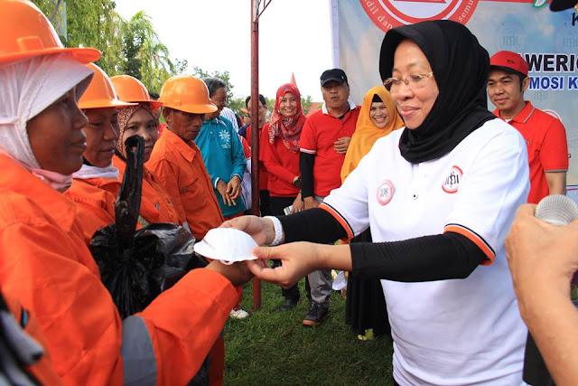 Hari Kartini; Ketua TP-PKK Palopo: Isteri Harus Memotivasi Suami