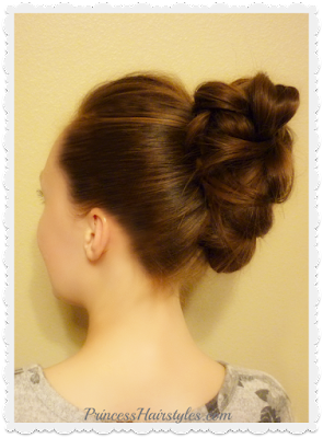 Quick and easy faux hawk kit tutorial. #goody #hairhack