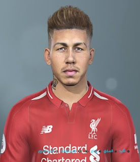 PES 2019 Faces Roberto Firmino by Shenawy