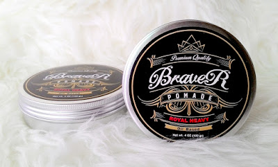 Premium Quality Pomade Braver Royal Heavy Oil Based Red 4oz