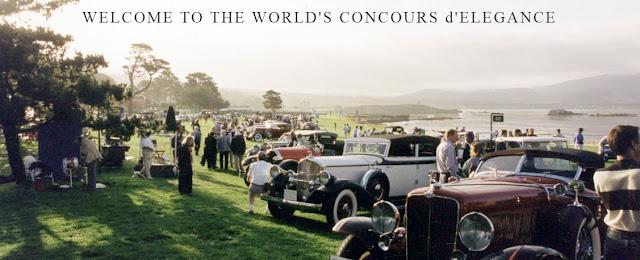 Pebble Beach Concours d'Elegance desde 1950