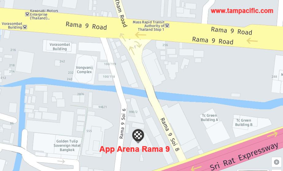 APP ARENA RAMA 9 BANGKOK THAILAND