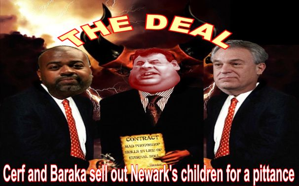 Image result for big education ape christie Newark Charter Schools
