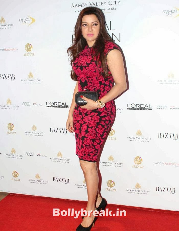 Kaykasshan Patel, Hot Celebs at India Bridal Fashion Week 2013