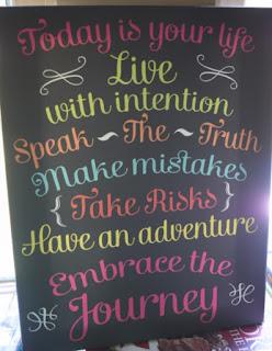embrace the journey print