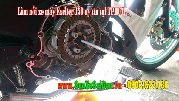 Chuyên làm nồi xe Exciter 150 chạy mạnh êm bốc hơn uy tín tại TpHCM