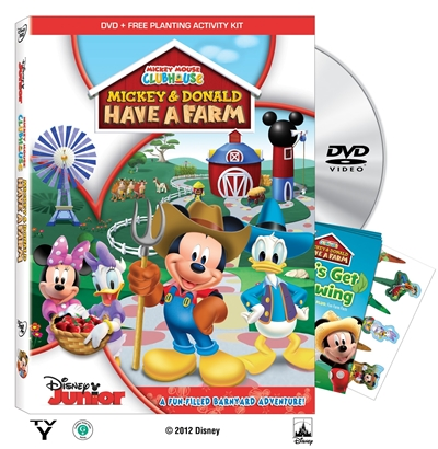 Mickey And Donald Have A Farm DVDR NTSC Español Latino Menu 2012