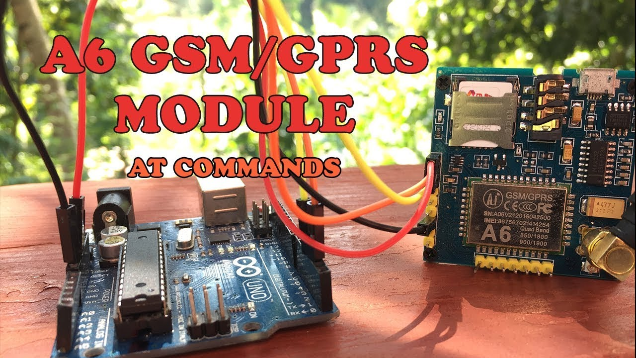 Easy Mades: A6 GSM GPRS Module AT Commands