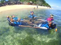 Tempat Snokling Pantai Nglambor Gunung Kidul di Jogja
