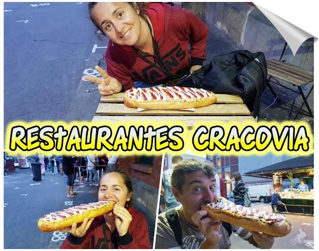 lugares donde comer en Cracovia