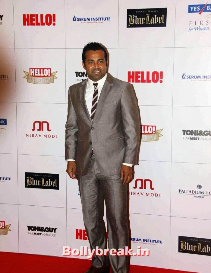 Leander Paes, Hello Awards 2013 Pics