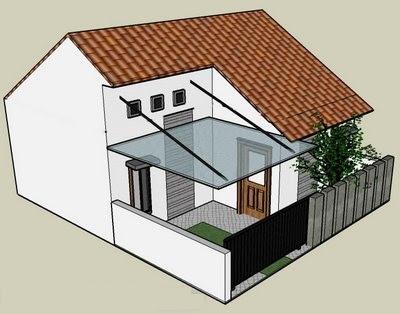 Gambar Desain Dan Denah Rumah Type 21
