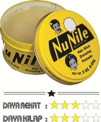 Review Minyak Rambut Pomade Murrays Nu Nile