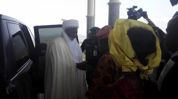 Photos: Gov. Ayo Fayose Welcomes Sultan Of Sokoto To Ekiti State