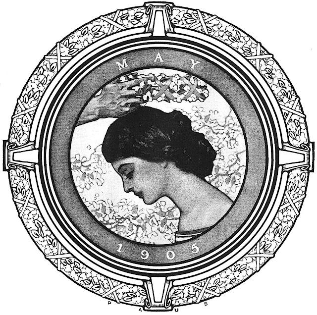 "a Herbert Paus illustration, ""May 1905"""