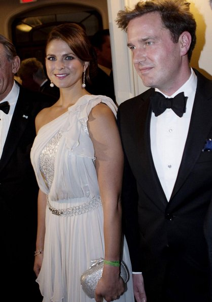 Princess Madeleine and Chris O'Neill attend the 100th Birthday of Raoul Wallenberg and presentation of the Raoul Wallenberg Civic Courage Award
