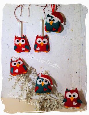 Laura idee creative idee regalo natale 2014 gufi for Cerco oggetti usati in regalo