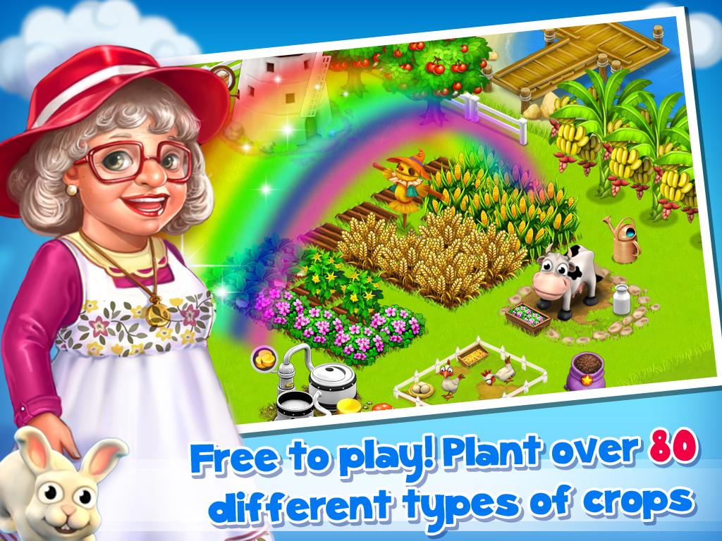 تحميل لعبة المزرعة السعيدة بتاعة الفيس بوك للموبايل كاملة مجانا