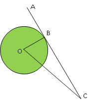 Contoh soal garis singgung lingkaran