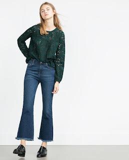 Como lo ven estos pantalones cropped definitivamente solo se ven bien con botines.