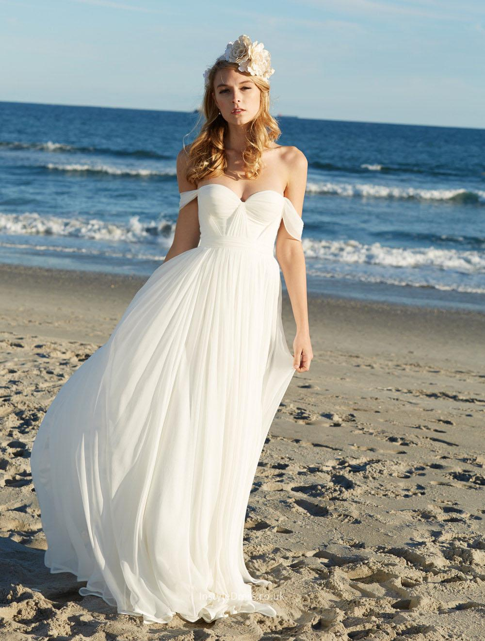 Beach Wedding Gowns: Fashion, Beauty And Lifestyle Blog