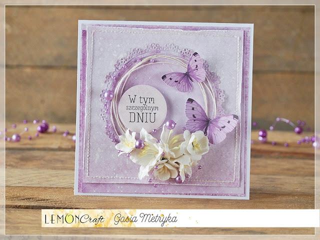 na fioletowo / in purple