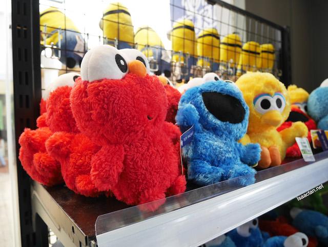 Sesame Street plush toys, got to love these