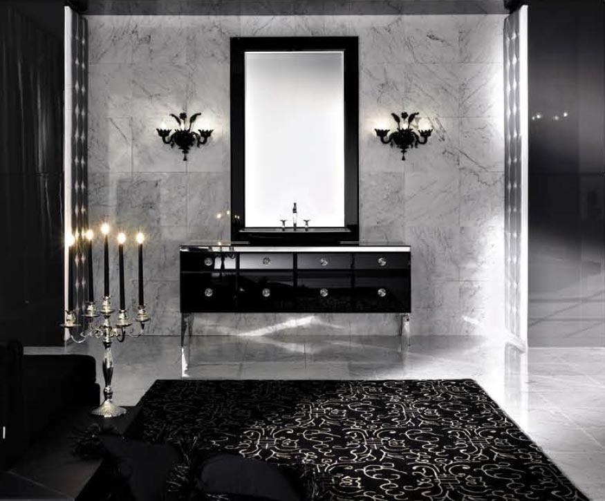 Decoracion Actual de moda: Baños con el color negro