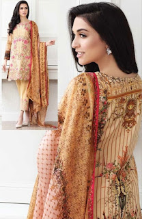 Zarqash Lawn 2017 Summer Collection Latest Design