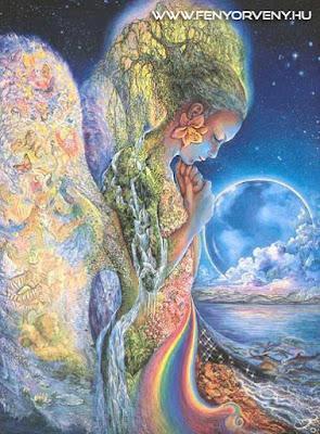 Földanya (Gaia), a gyűjtőpont helyzetei és a csendes tudás