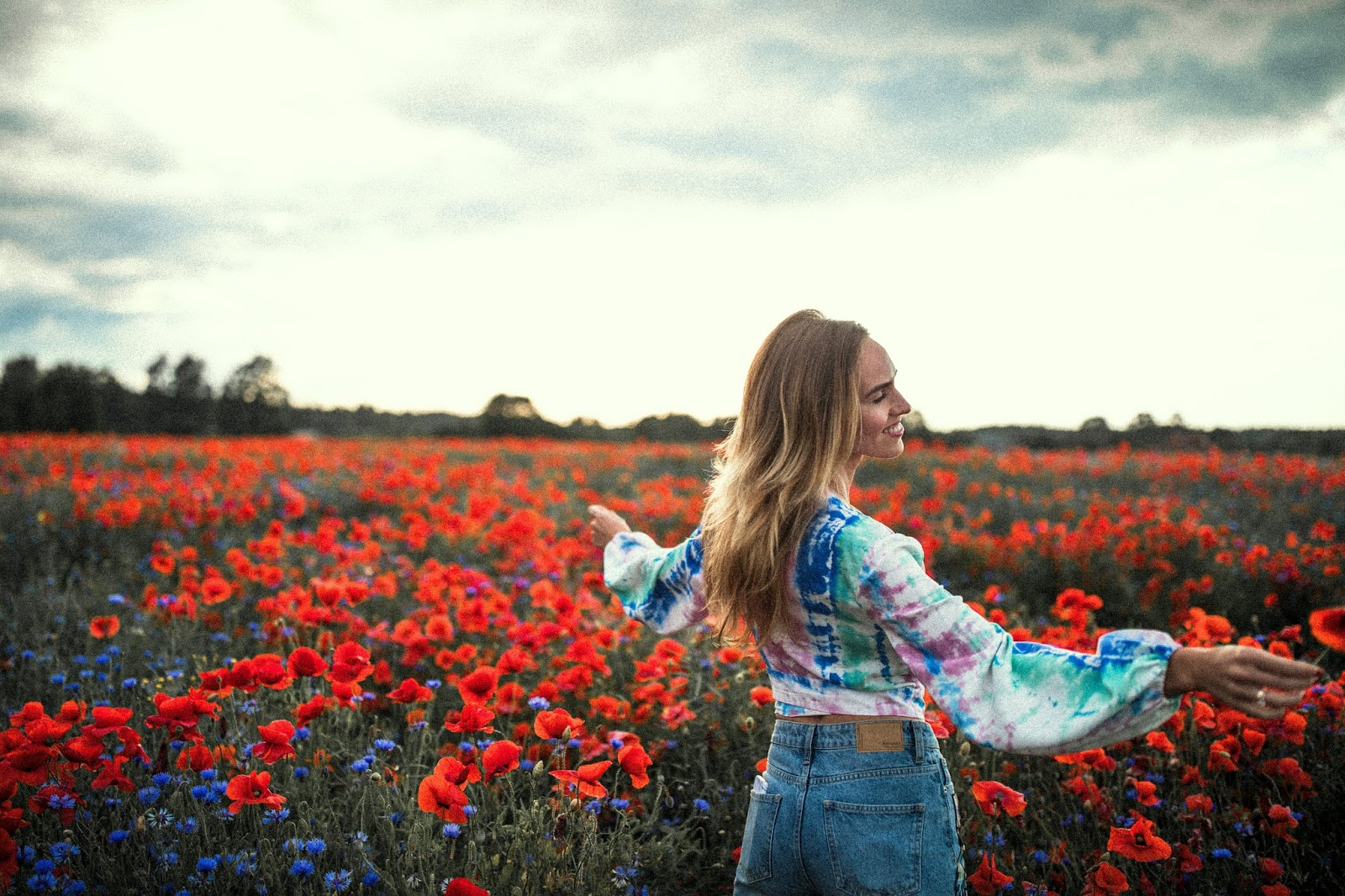 poppy field photography fun