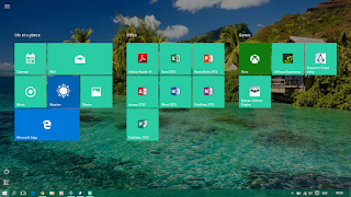 Start Screen - Windows 10