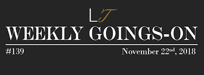 Weekly Goings-On #139 - Blackpool Hotels Newsletter - Blackpool Shows and Events November 23 to November 29