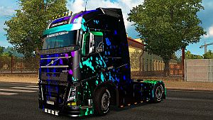 Flash Colors skin for Volvo Ohaha 2013