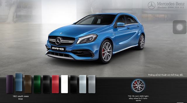 Mercedes AMG A45 4MATIC 2017
