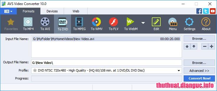 Download AVS Video Converter 10.1.2.627 Full Cr@ck – Chuyển đổi mọi định dạng video, audio