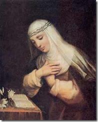 Oração a Santa Catarina de Sena
