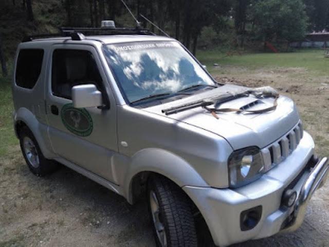 Σύλληψη λαθροθήρα στην περιοχή Λεύκη Ελασσονας