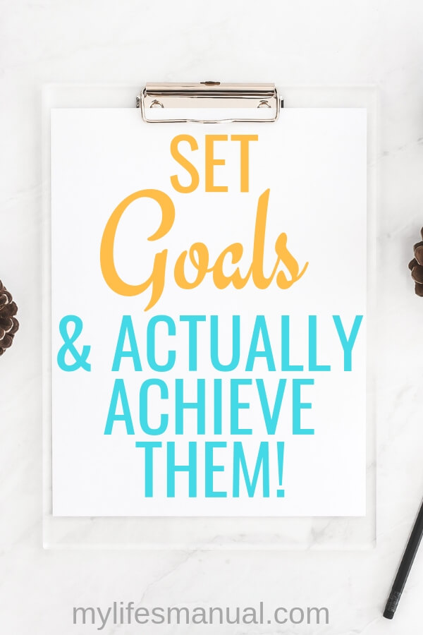 How to set goals and achieve them Slay Your Goals Planner Review.