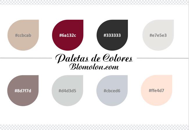 paletas de colores once
