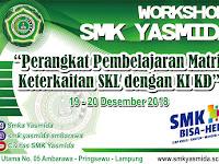 Desain Banner Workshop Perangkat Pembelajaran SMK Yasmida