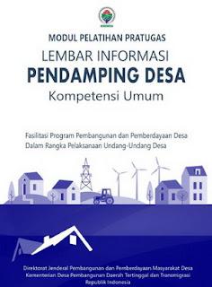 Modul Pendamping Desa Kompetensi Umum