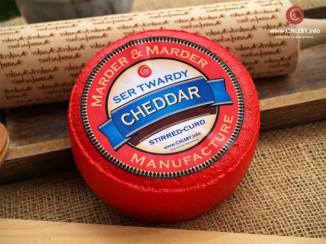 Ser żółty stirred-curd cheddar