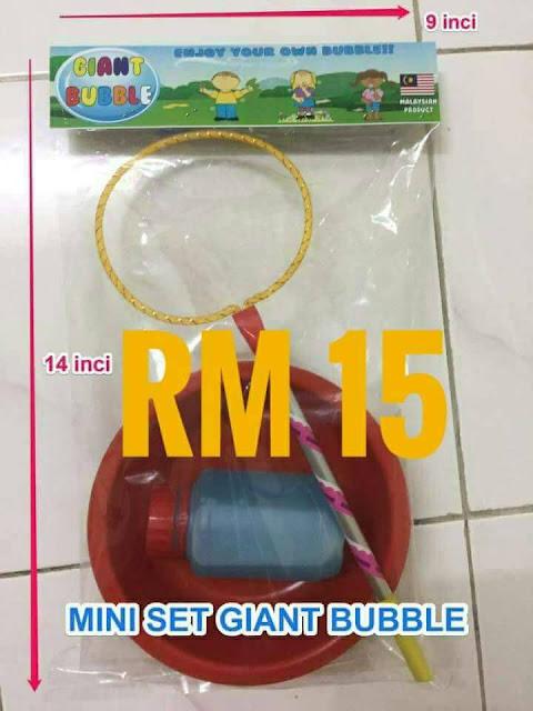 Giant Bubble, main belon, main belon depan rumah, DIY Giant Bubble, Bubble Giant boleh main di rumah, cod shah alam, cod puchong, cod subang, cod klang, penghantaran seluruh malaysia