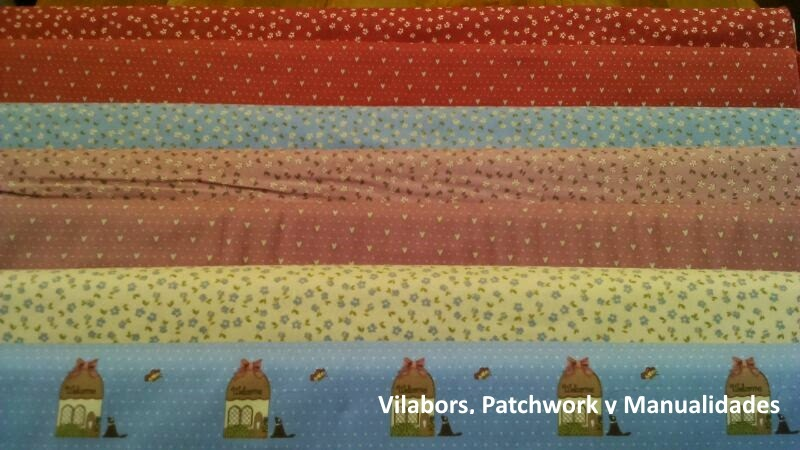 Telas Patchwork Veronique Requena en Vilabors, Vilafranca del Penedès