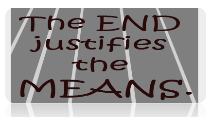 the end justifies the means essay accepted interpretation of machiavelli s the ends justify does the end justify the means